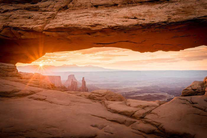 Patel Plastic Surgery website the English Surgeon, Dr. Bhupendra C. K. Patel MD photos of Southern Utah Mesa Arch in the Canyonlands